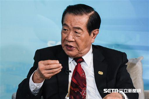 鑑識專家李昌鈺接受三立新聞網專訪。 (圖/記者林敬旻攝)
