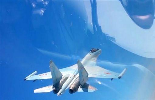 解放軍蘇-35戰機_環球網
