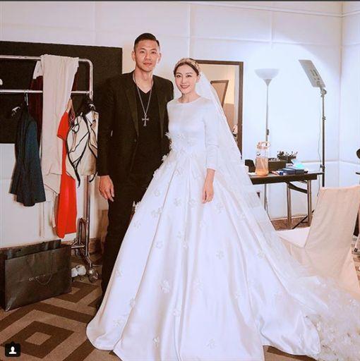 陶嫚曼,張維洋,結婚,陳建州,黑人/翻攝自ig