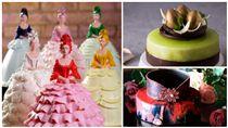 母親節造型蛋糕。(圖/君品、誠品行旅、晶華提供)
