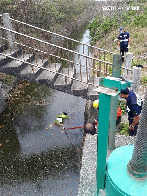 與家人進香…8歲女童離奇失蹤2天 尋獲竟陳屍排水溝翻攝畫面