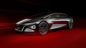 Aston Martin Lagonda Vision Concept概念車。(圖/翻攝Aston Martin網站)