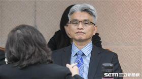 內政委員會審查中選會委員提名,陳英鈐。 圖/記者林敬旻攝