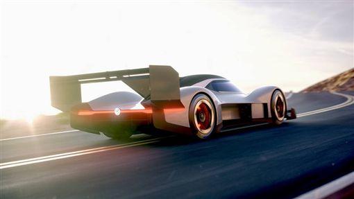 I.D. R Pikes Peak電動賽車。(圖/翻攝Volkswagen網站)