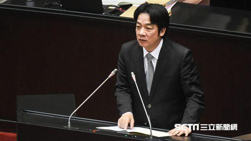 行政院長賴清德前往立法院進行施政報告。 圖/記者林敬旻攝 ID-1334930