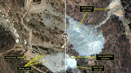 北韓,核武,試核廠,金正恩,美國,衛星 圖/翻攝自「北緯38度」