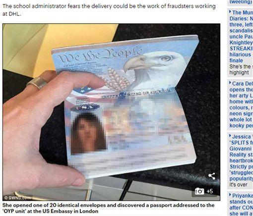 網購洗髮精收到美國護照…警察竟要她「丟垃圾桶」 圖/翻攝自每日郵報