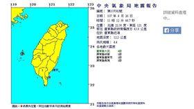 0426 11:12台東縣近海地震