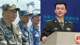 習近平、解放軍、國防部新聞發言人吳謙/央視、中國國防部網站