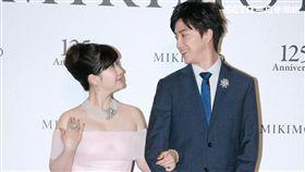 江宏傑福原愛兩人的一舉一動一顰一笑都充滿粉紅泡泡。(記者/蔡世偉攝影)