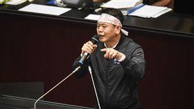 立法院召開臨時會審理勞基法,國民黨立委林為洲 圖/記者林敬旻攝