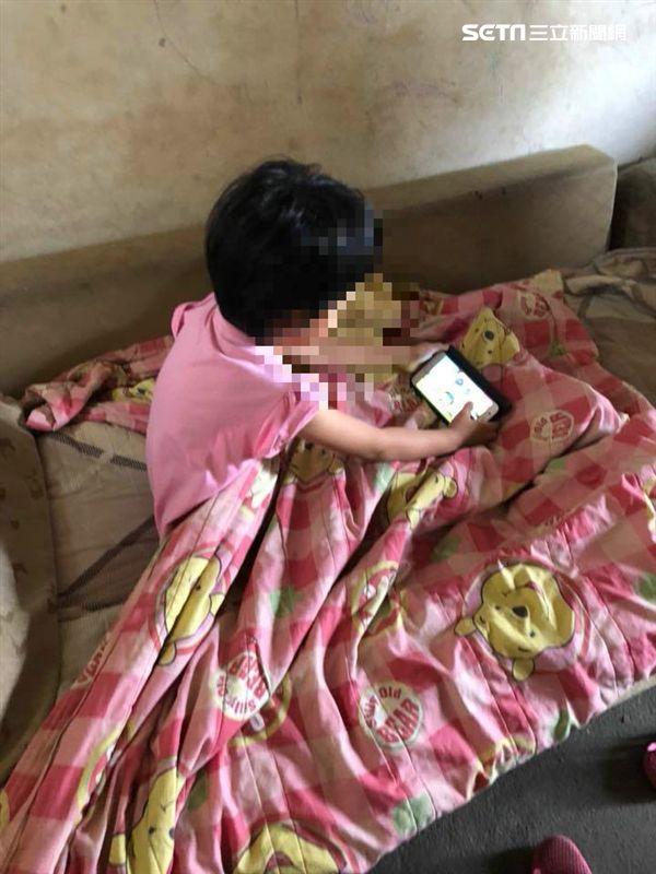 彰化4歲女童與阿公相依為命、獨自在家/彰化縣議員賴清美提供