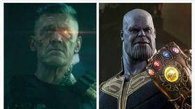 ▲喬許布洛林同時飾超級英雄中的兩個角色。(圖/翻攝自臉書)