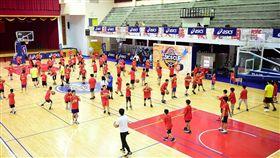 亞瑟士籃球練營廣受歡迎。(圖/大漢整合行銷提供)