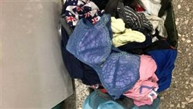 男宿洗衣機發現女性內衣/Dcard