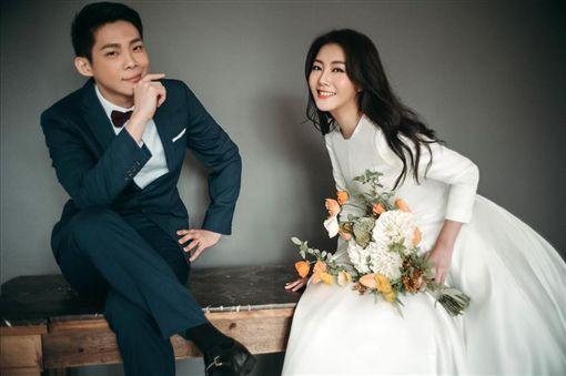 陶嫚曼婚紗照 圖/翻攝自臉書