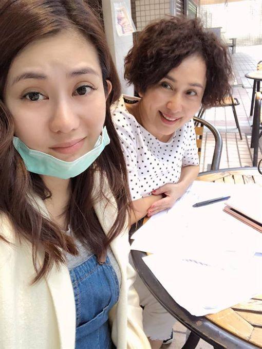 ▲▼王宇婕與媽媽蕭瑤感情一向很好。(圖/翻攝自臉書)
