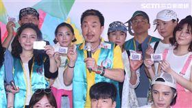 楊懷民出席「毛起來幸福」公益活動為流浪動物請命。(圖/記者蔡世偉攝影)