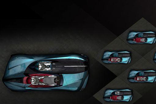 DS X E-Tense電動概念車。(圖/翻攝DS網站)