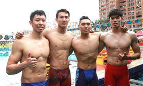 輔仁大學游泳接力隊。(圖/全大運提供)