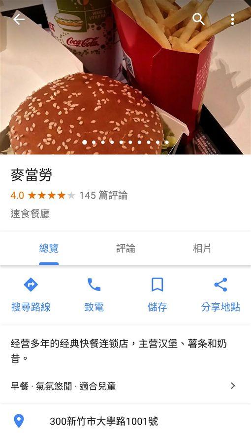 新竹,美食,Google,評價,4星,米其林,美食沙漠,PTT,批踢踢 圖/翻攝自PTT