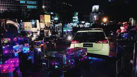 Toyota在華山文創園區打造外展裝置「YARIS X第一個夢想」。(圖/Toyota提供)