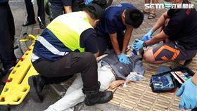 墜樓,消防隊,無呼吸,送醫,泰山