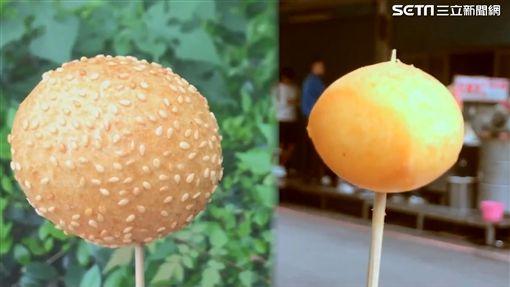 芝麻球以及QQ蛋。(圖/記者江芳緣攝影)