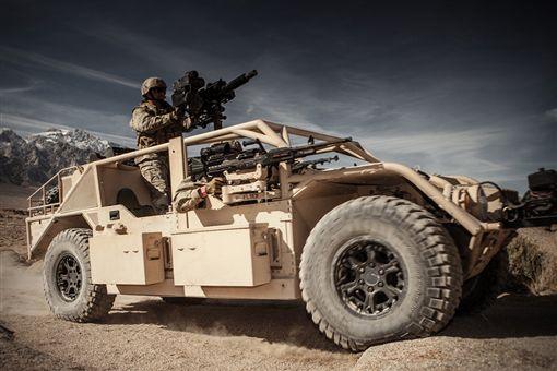 General Dynamics Flyer 60突擊車。(圖/翻攝General Dynamics網站)