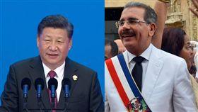 多明尼加總統梅迪納(Danilo Medina)、習近平/臉書、中央社
