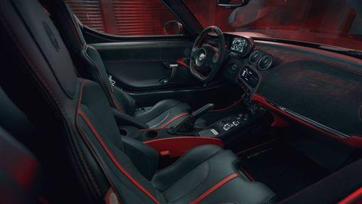 Pogea Racing重改Alfa Romeo 4C。(圖/翻攝Pogea Racing網站)