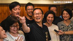 國民黨台北市長參選人丁守中勝出初選。 (圖/記者林敬旻攝)