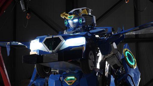 可變形態J-deite RIDE機器人。(圖/翻攝Asratec網站)
