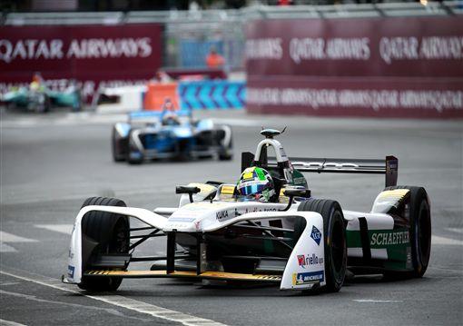 Audi Sport法國站奪下第二。(圖/Audi提供)