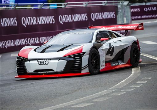 Audi e-tron Vision Gran Turismo。(圖/Audi提供)
