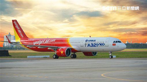 越捷航空,VietJet Air。(圖/越捷航空提供)