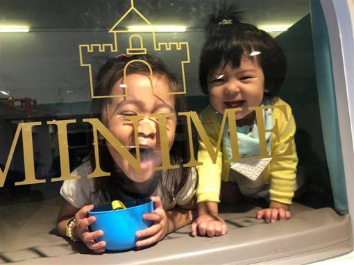 咘咘,Bo妞(圖/翻攝自臉書)