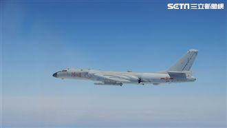 中共轟六機再度擾台 國防部證實