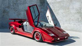 Lamborghini Countach S Turbo。(圖/翻攝Curated網站)