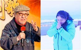 孫越、命理師鍾絲雨 合成圖/翻攝字臉書