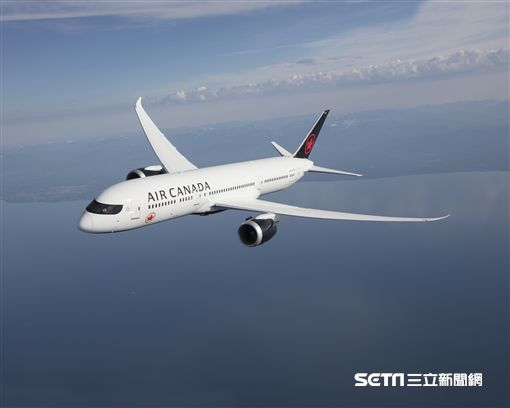 加拿大航空,加航客機, 787夢幻客機, 波音。(圖/加航提供)