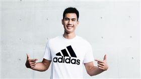 台灣最速男楊俊瀚加入adidas團隊。(圖/品牌提供)