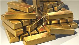 黃金,金條,金磚_pixabay