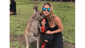 澳洲,袋鼠,動物,餵食,奈良鹿,BBC 圖/翻攝自BBC