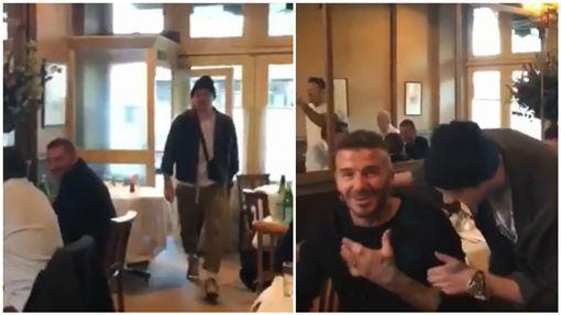 貝克漢,布魯克林,驚喜,生日,慶生,Brooklyn Beckham,David Beckham/貝克漢IG