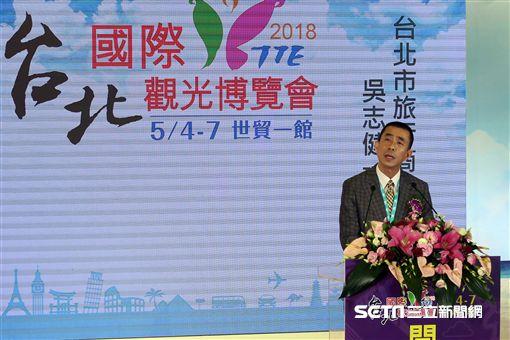 TTE, 台北國際觀光博覽會,夏季旅展, 吳志健, 台北市旅行公會理事長。(圖/記者簡佑庭攝)