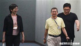 蔡壁如與新辦公室主任李文宗 盧冠妃攝