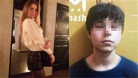 俄羅斯,殺人,持刀,女大生,提款,Alexey Maximov,Daria Evdokimova,尾隨,電玩,體驗 圖/翻攝自推特