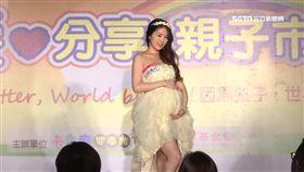 走秀、才藝表演 孕媽咪拚赴上海爭冠