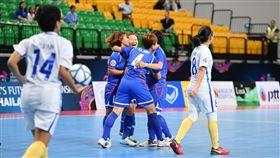 ▲中華女子五人足球隊。(圖/中華足協提供)